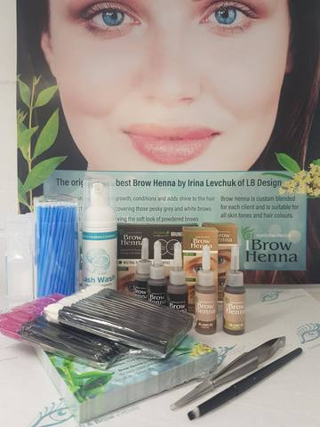 Henna Brow Advanced Starter Kit Irina Levchuk Lashworx